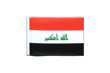 Iraq 2009 Mini Flag 4x6""