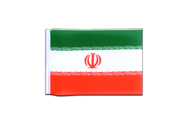 Iran - Mini Flag 4x6""