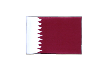Qatar Mini Flag 4x6""