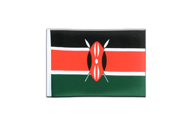 Kenya Mini Flag 4x6""