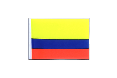 Colombia Mini Flag 4x6""