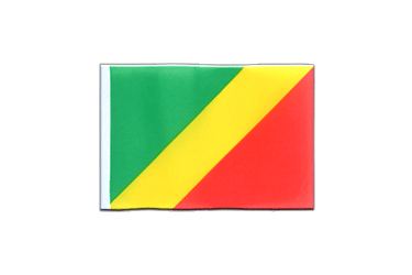 Congo Mini Flag 4x6""