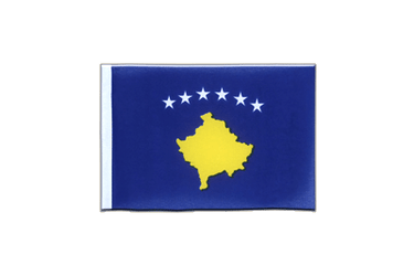 Kosovo Mini Flag 4x6""