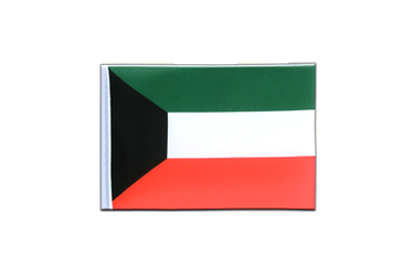 Kuwait Mini Flag 4x6""