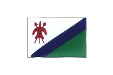 Fanion rectangulaire Lesotho ancien 10 x 15 cm