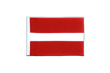 Latvia - Mini Flag 4x6""