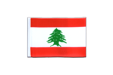 Lebanon Mini Flag 4x6""