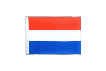 Luxembourg Mini Flag 4x6""