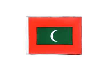 Maldives - Mini Flag 4x6""