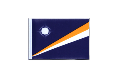 Marshall Islands Mini Flag 4x6""