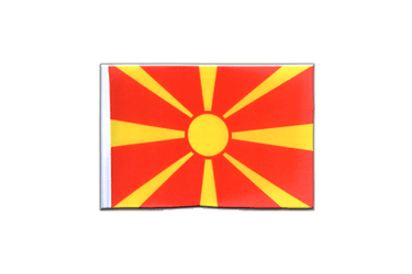 Macedonia Mini Flag 4x6""