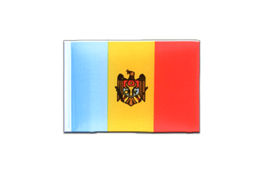Moldova Mini Flag 4x6""