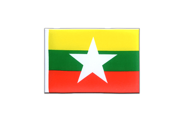 Myanmar new Mini Flag 4x6""