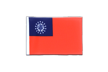Myanmar 1974-2010 Mini Flag 4x6""