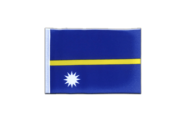 Nauru - Mini Flag 4x6""