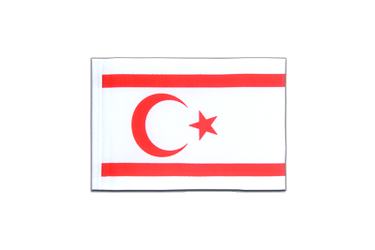 North Cyprus Mini Flag 4x6""
