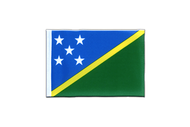 Solomon Islands Mini Flag 4x6""