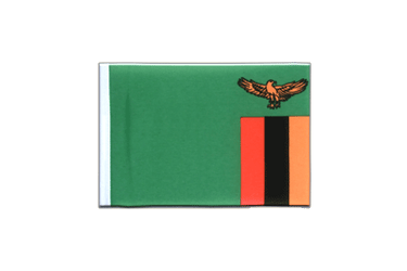 Zambia Mini Flag 4x6""
