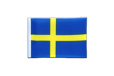 Sweden Mini Flag 4x6""