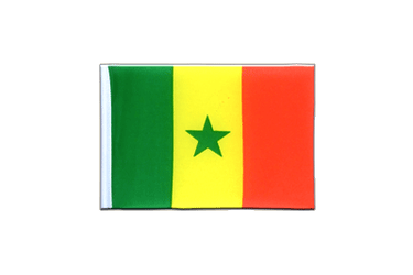 Senegal Mini Flag 4x6""