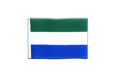 Sierra Leone - Mini Flag 4x6""