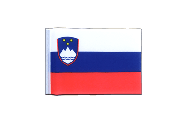Slovenia - Mini Flag 4x6""