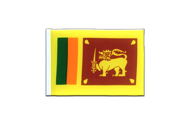 Sri Lanka Mini Flag 4x6""