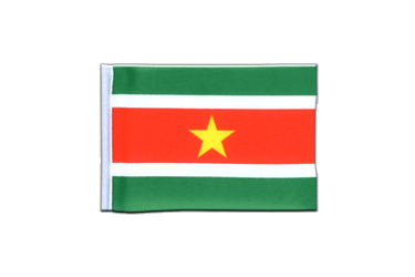 Suriname Mini Flag 4x6""