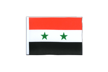 Syria - Mini Flag 4x6""