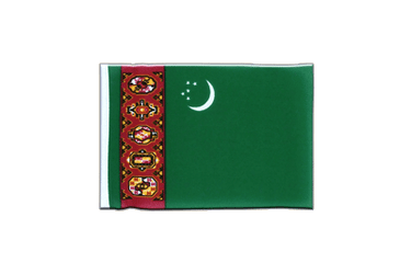 Turkmenistan Mini Flag 4x6""