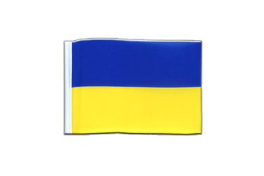Ukraine Mini Flag 4x6""