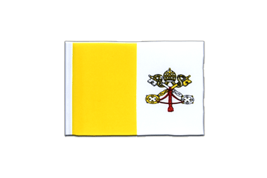 Vatican Mini Flag 4x6""