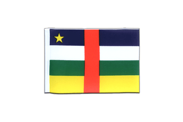 Central African Republic Mini Flag 4x6""