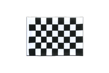 Checkered Mini Flag 4x6""