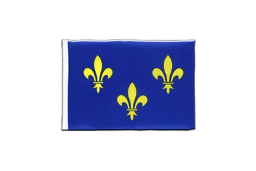Île-de-France Mini Flag 4x6""