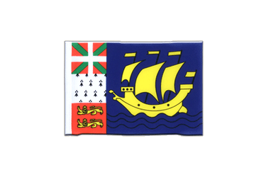 Saint Pierre and Miquelon Mini Flag 4x6""