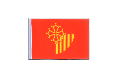 Languedoc-Rousillon Mini Flag 4x6""