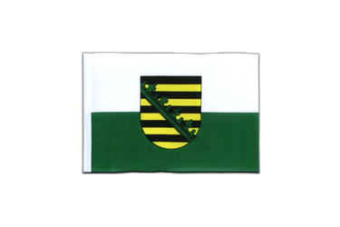 Saxony - Mini Flag 4x6""