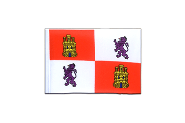 Castile and León Mini Flag 4x6""