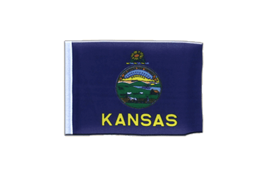Kansas - Mini Flag 4x6""