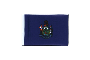 Maine - Mini Flag 4x6""