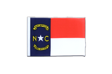 North Carolina Mini Flag 4x6""