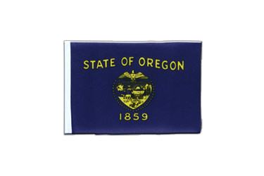 Oregon Mini Flag 4x6""