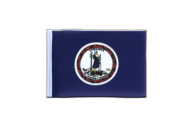 Virginia - Mini Flag 4x6""