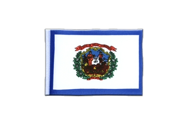 West Virginia Mini Flag 4x6""