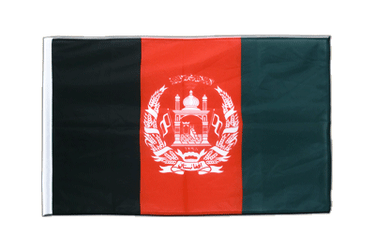 Afghanistan Sleeved Flag PRO 2x3 ft