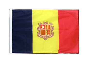 Andorra Sleeved Flag PRO 2x3 ft
