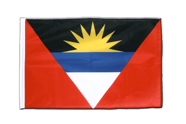 Antigua and Barbuda Sleeved Flag PRO 2x3 ft