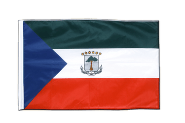 Equatorial Guinea - Sleeved Flag PRO 2x3 ft