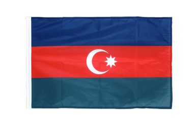 Azerbaijan - Sleeved Flag PRO 2x3 ft
